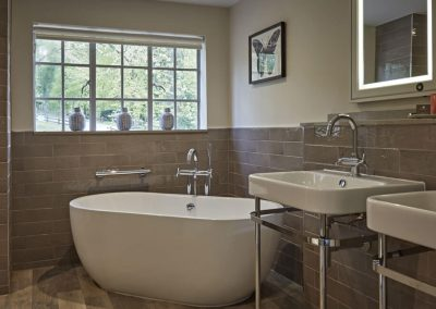 Photo of a medium luxe bathroom at The Fish Hotel