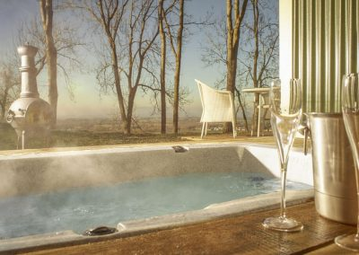 Photo of the hottub at The Fish Hotel
