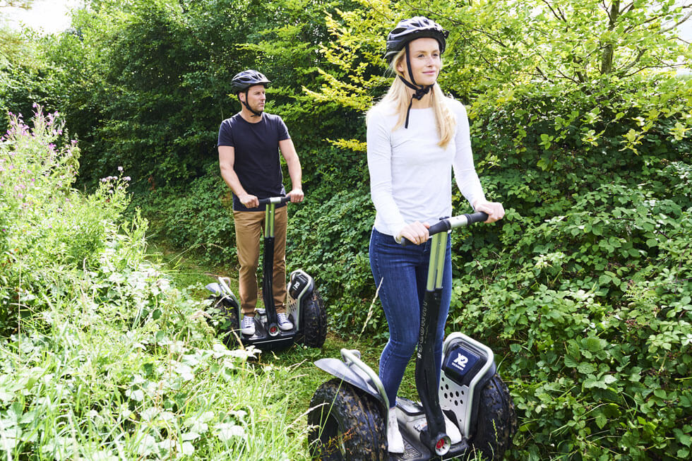 Photo of a segway at The Fish Hotel