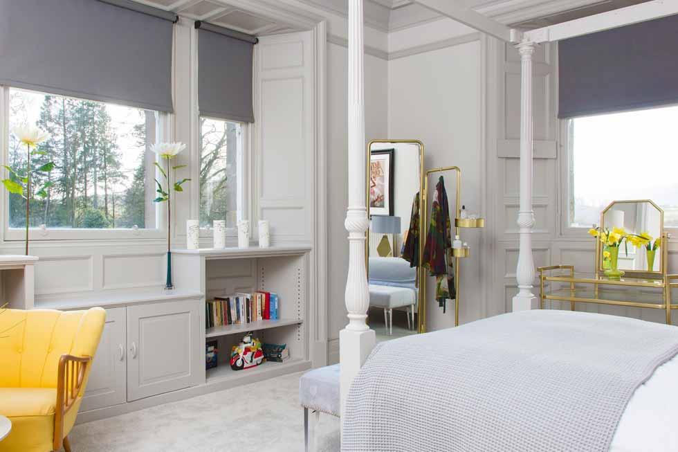 One of The Gart's bedroom suites