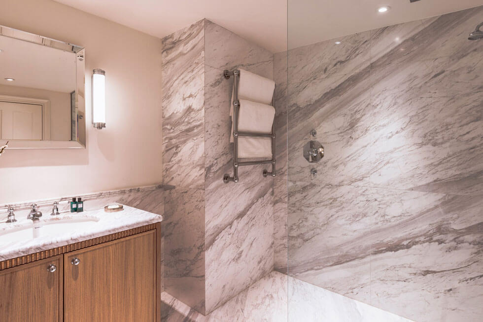 Photo of A typical bathroom at The Langley