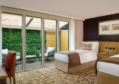 Photo of a Brew House Garden Twin Bedroom