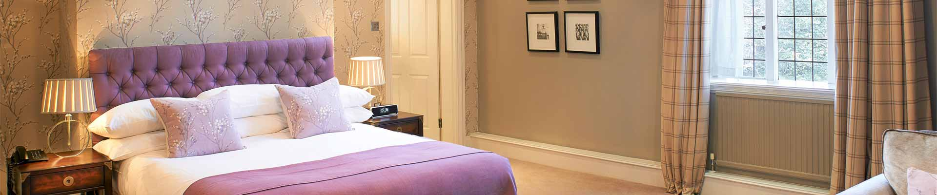 Photo of one of the bedroom suites at The Manor Elstree