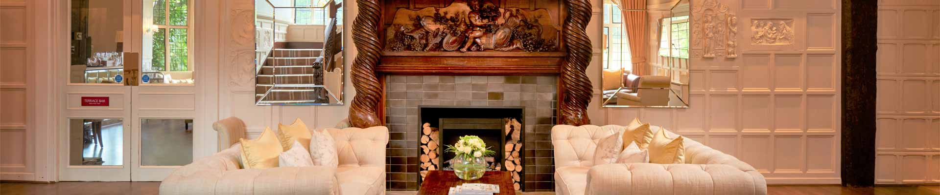 Photo of one of the lounge areas at The Manor Elstree