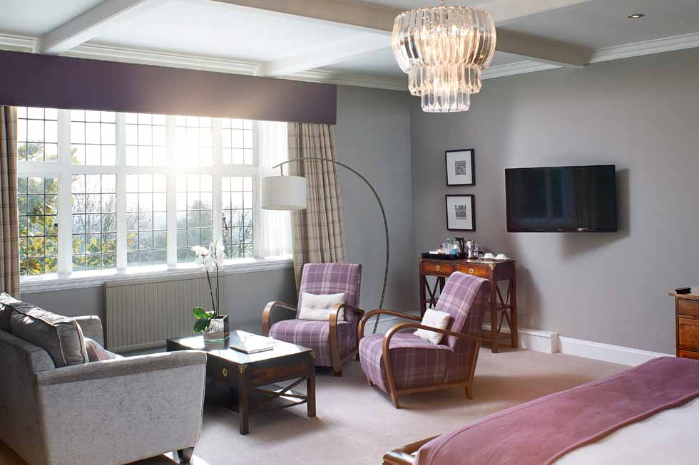 Photo of one of the Junior Suites at The Manor Elstree