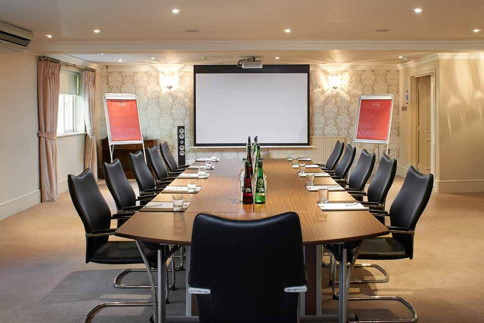Photo of one of the meeting rooms at The Manor Elstree