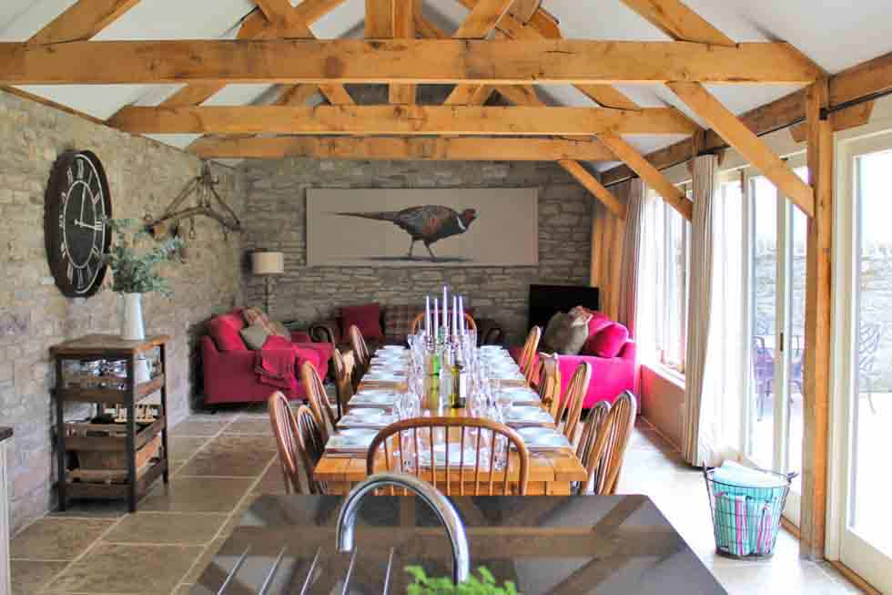 The Old Byre dining area