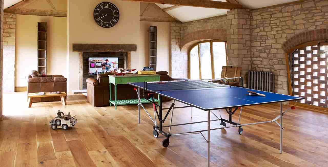 The games room at The Old Mill & Hayloft