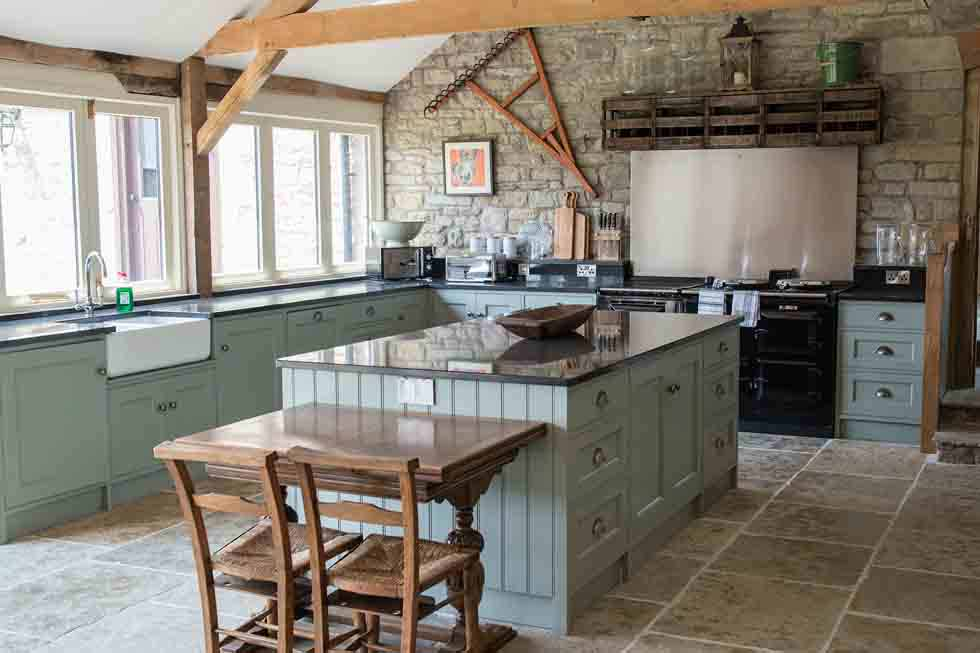The Old Mill & Hayloft's kitchen