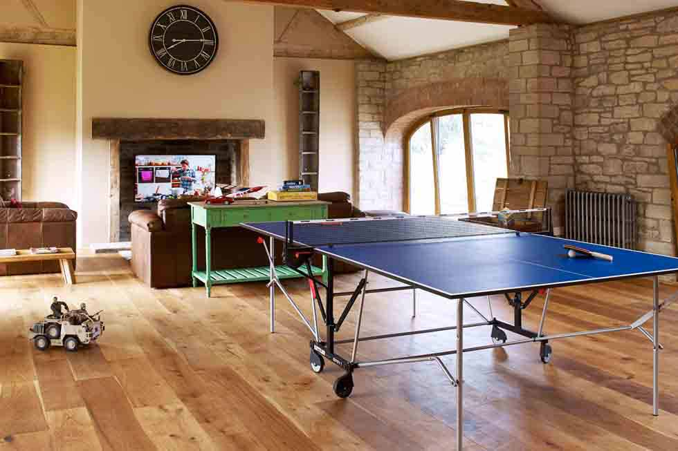 The Old Mill & Hayloft's games room