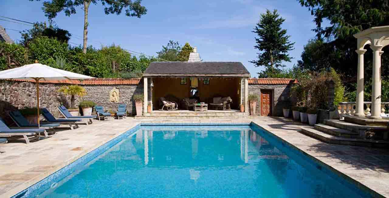 Enjoy a relaxing swim at The Old Rectory