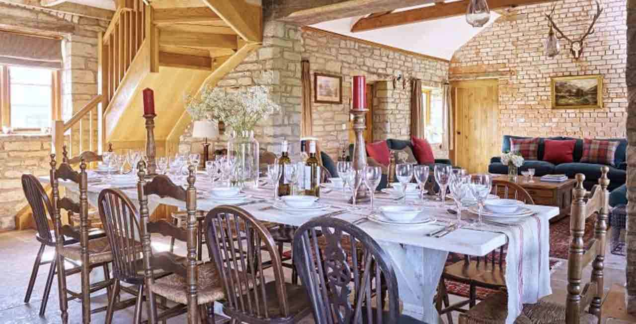Host your dinner party at The Stables