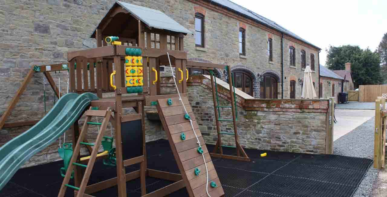 The Stables' play area