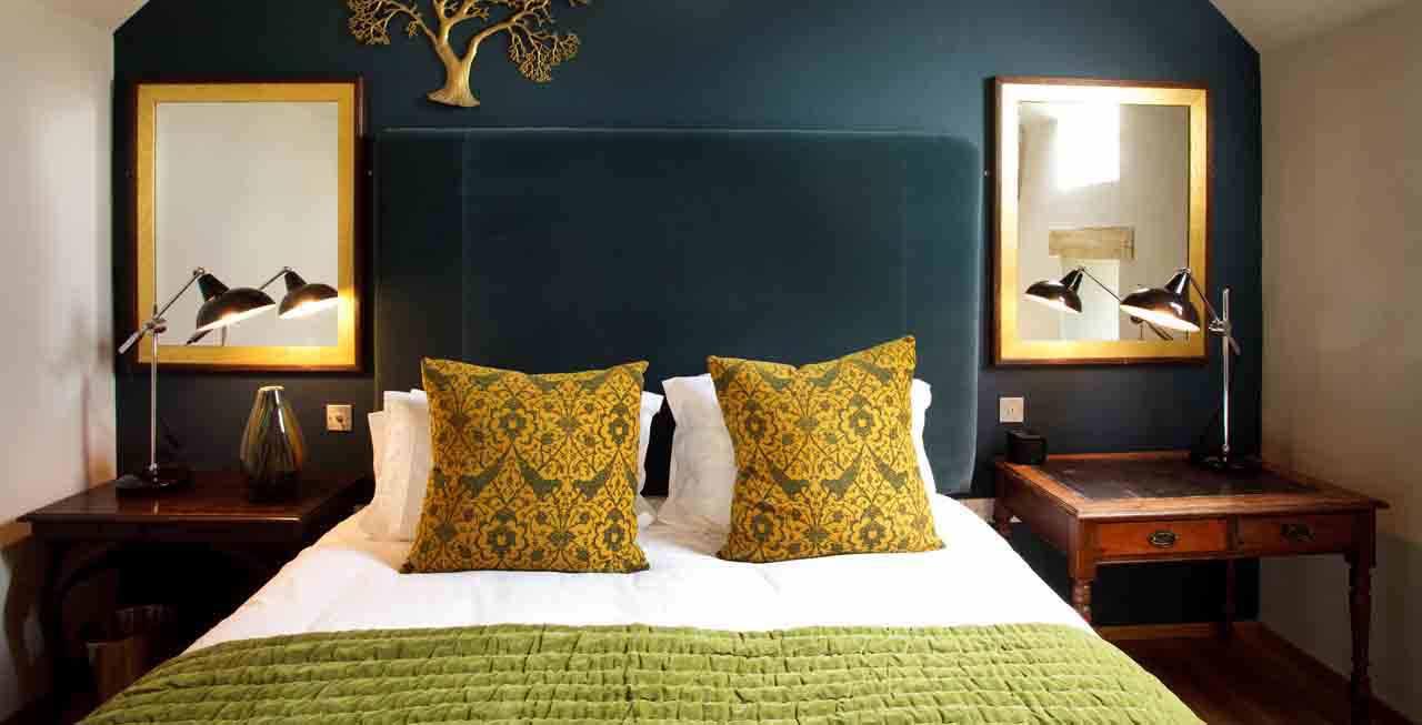 Tregulland Barn has stunning bedrooms