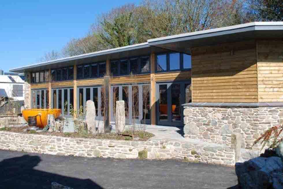 Tregulland Barns indoor eco swimming pool