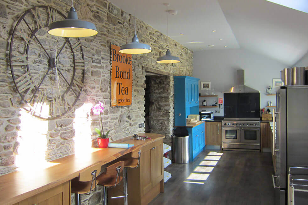 Photo of Tregulland Cottage's kitchen