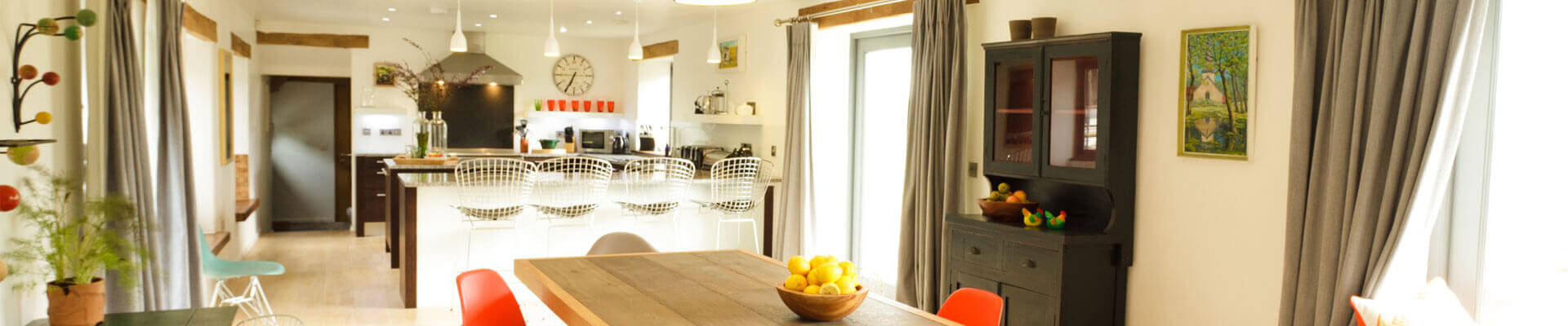 Photo of Tregulland Retreats kitchen