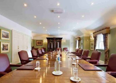 Photo of the boardroom at Harmon House