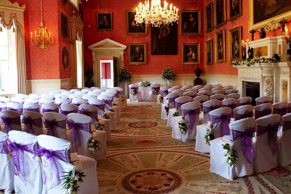 Weston Park is a beautiful place to hold your wedding day