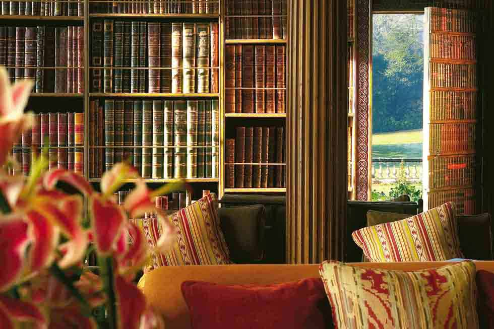 Weston Park has an extensive library